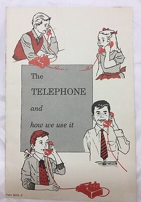 The Telephone And How We Use It Vintage Booklet Bell Telephone 24 pp