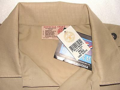 Boy Scouts of America Official Long Sleeve Adult Uniform Adult XL