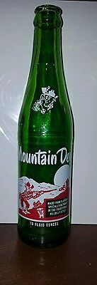 1960 Era 10 Ounce Mt. Dew Hillbilly Soda Bottle