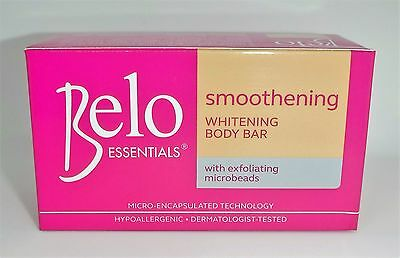 New Authentic BELO SMOOTHENING Whitening Soap (Pink) 135 grams Large USA Seller