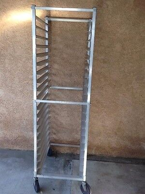 COMMERCIAL GRADE: Heavy Duty 20 Sheet Pan Rack/ Cooling Rack
