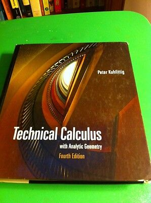 Technical Calculus - 81 Copies - Fourth Edition - Peter Kuhfittig - 0495018767