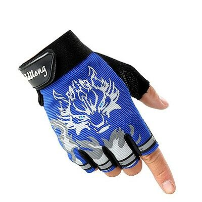 Hot style Cycling Bike Bicycle Half Finger Glove Sport Short Fingerless Gloves