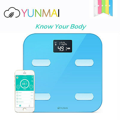 Body Fat Analyzer Bathroom Smart Scales Wireless Weighing Scale Weight Loss BMI