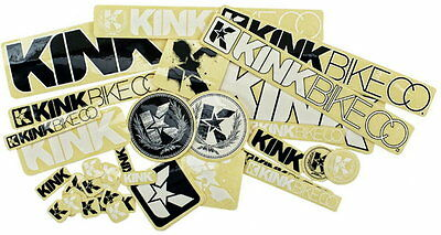 10 Pcs KINK BMX Bike Bicycle Frame Race Ride Park Frame DECAL STICKER