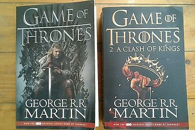 Game of Thrones Books Book 1 & 2 A Clash of Kings George R.R. Martin