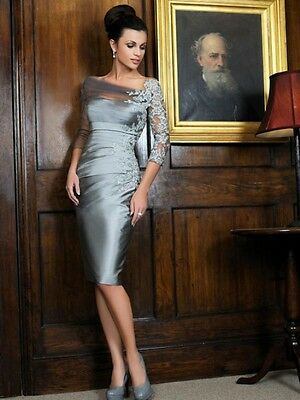 Mother Of Bride Dresses Formal Gowns Size 14w In Stock Half Sleeves Off Shoulder