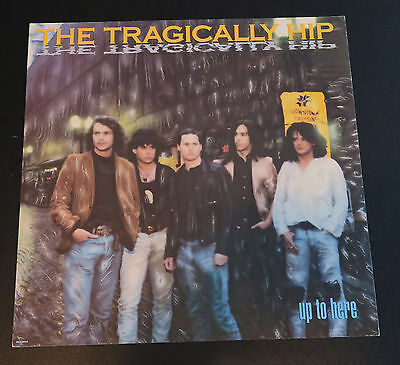 Tragically Hip-  publicity photo, tour passes and  promo flat