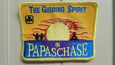 """Girl Guide Patch """"The Guiding Spirit in Papaschase"""""""