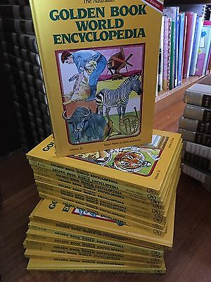 Australian Golden World Encyclopedia A-Z  x18 Gr8 4 Kids Collectible Keep Sakes