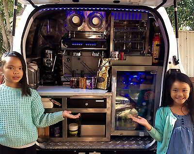 SUZUKI APV 2009 MOBILE COFFEE VAN 69,500 kms NEW 2017 FITOUT