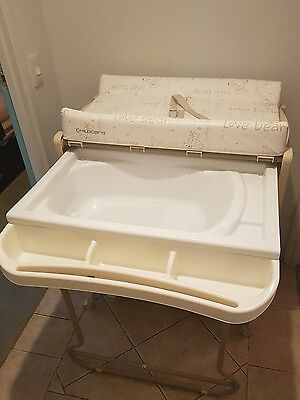 Childcare Change Table and Bath - very good condition