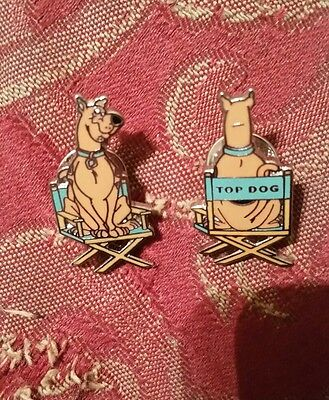 Rare! 1999/1998 SCOOBY DOO Hanna-Barbera Lot of 2 Pins 90's Cartoon Network