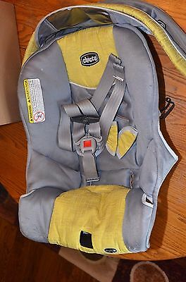 CHICCO KEYFIT/ Keyfit 30 Infant Car Seat REPLACEMENT COVER - LIMONATA Yellow