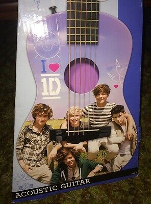 One Direction Acoustic Guitar by First Act    STILL SEALED IN BOX