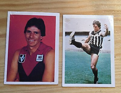 Vintage 1981 Kelloggs Australian Football Greats Cereal Cards