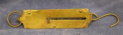 Antique Brass Fish Scale LE Knott Apparatus Co Forsotlner  IN Good Shape!  SHP
