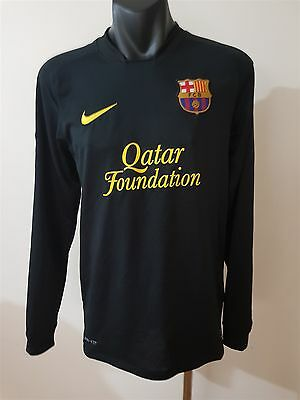 Fc Barcelona Football Club Men's Long Sleeve Shirt Ned 10 Size Small Soccer Fcb
