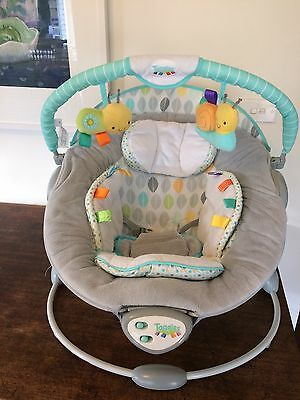 Bright Star Taggies Soothe Me Soft - Baby Bouncer