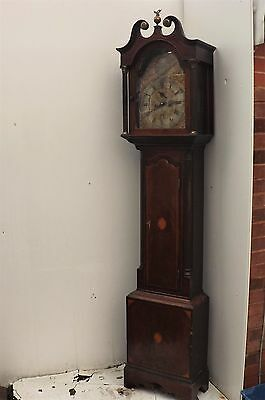 Rare Scottish Port Glasgow grandfather clock