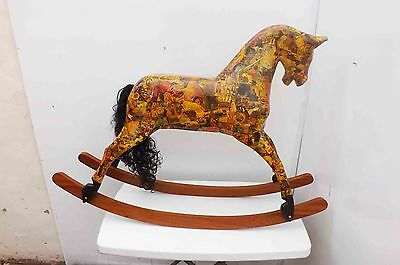 Victorian rocking Horse rare item of Beauty