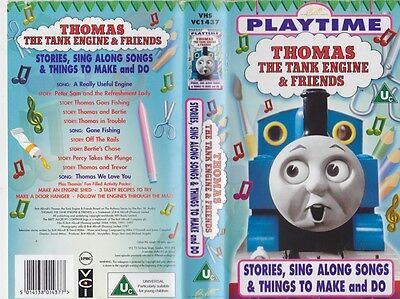 Thomas The Tank Engine Playtime Vhs Video Pal~ A Rare Find
