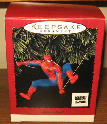 Hallmark Keepsakes - 3 Spiderman Ornaments 1996 2005 2006