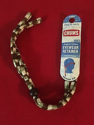 NEW Chums Original Cotton Eyewear Retainer for Standard Frames.