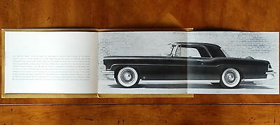 "Lincoln ""The Continentals"" - 1955 Mk.II brochure & model history (near mint!)"