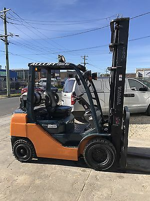 2.5T TOYOTA 8fg25 Forklift 3500hrs- NOT TCM, Nissan, Hyster, Yale