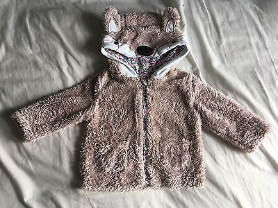Baby Girl 6-9 Months M&S Coat