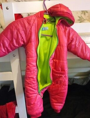 baby girl snowsuit/coat 6-9 months
