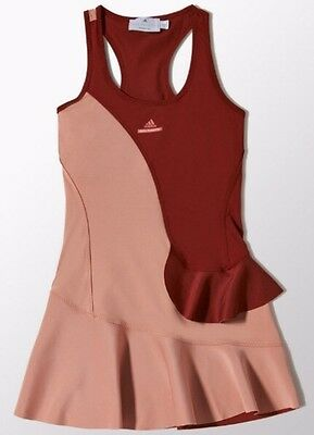 BNWT ADIDAS Stella McCartney Barricade Tennis Dress SIZE: Medium