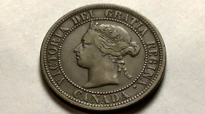 1882 Canadian Large Cent - Free U.S. Shipping