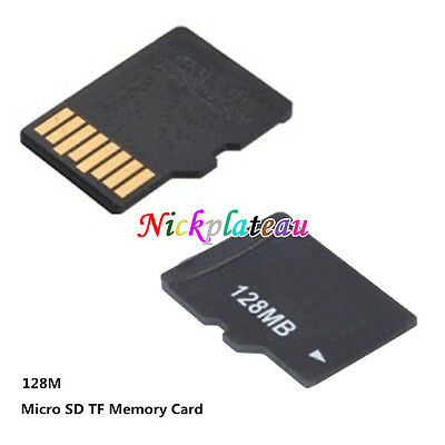 128MB Micro SD TF Memory Card For Samsung Galaxy S5 S4 S3 Note 4 3 2 Cellphone