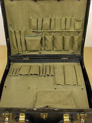 Vintage Gun, Tv, Radio, Mechanics, Electronics Tool Set House-Call Brief Case