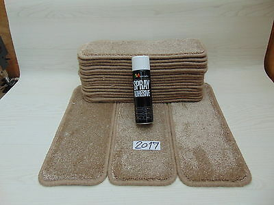 Carpet Stair pads 50 cm Wide 19 off  and  with a FREE  can of SPRAY GLUE 2017-5
