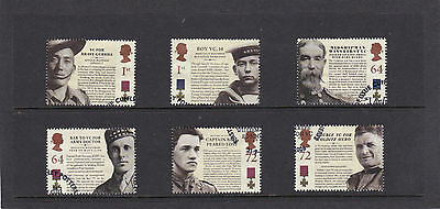 GB 2006  The Victoria Cross - Set of Single Stamps - Fine Used.