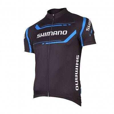*** NEUF *** Maillot SHIMANO  Manches courtes Noir 2016 Taille L
