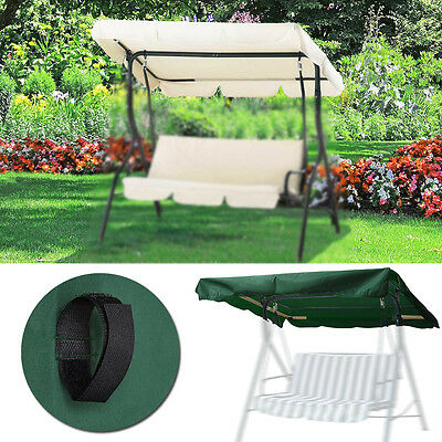 Replacement Canopy for Swing Seat Garden Hammock 2 & 3 Seater Sizes Spare Covers