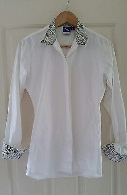 Ladies GIDDYUP Show Shirt, Sz S (8-10) NEW