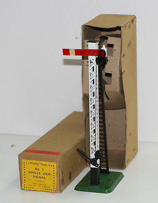 Meccano Hornby O Gauge Early Post War 1948 Only No 2 Signal Nos In Box Export