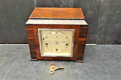 Gustav Becker Musical Clock small and rare.