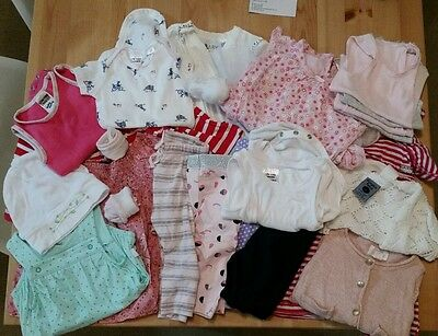 24 x BULK Baby Girl Clothes. Size 000-00. Cotton On. Pumpkin Patch. Gr8 Cond.