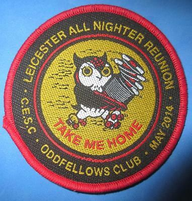 Northern Soul Patch - Leicester Oddfellows All Nighter Reunion May 2014