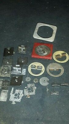miscellaneous Northwestern gumball machine parts for the 60 and super 60s.