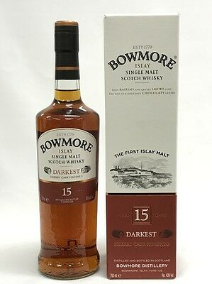 Bowmore 15 Years Old Islay Single Malt Scotch Whisky 700Ml Boxed