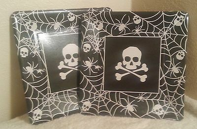 192 X Pirate ~ Halloween Design Party Plates  24 Packs Of 8 New