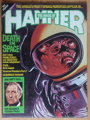 House Of Hammer - Horror Magazine #5 Issue 5 Original Vintage Pressing