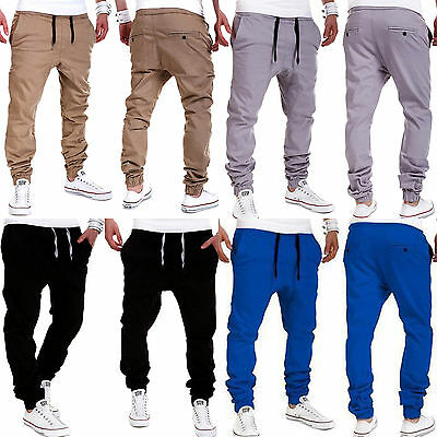 Fashion AU Men's Casual Pant Trousers Jogger Dance Sweatpants Harem Pants Slacks